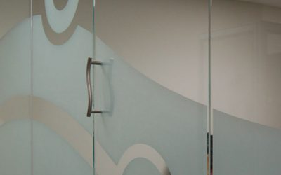 Etched Glass Effect Window Film