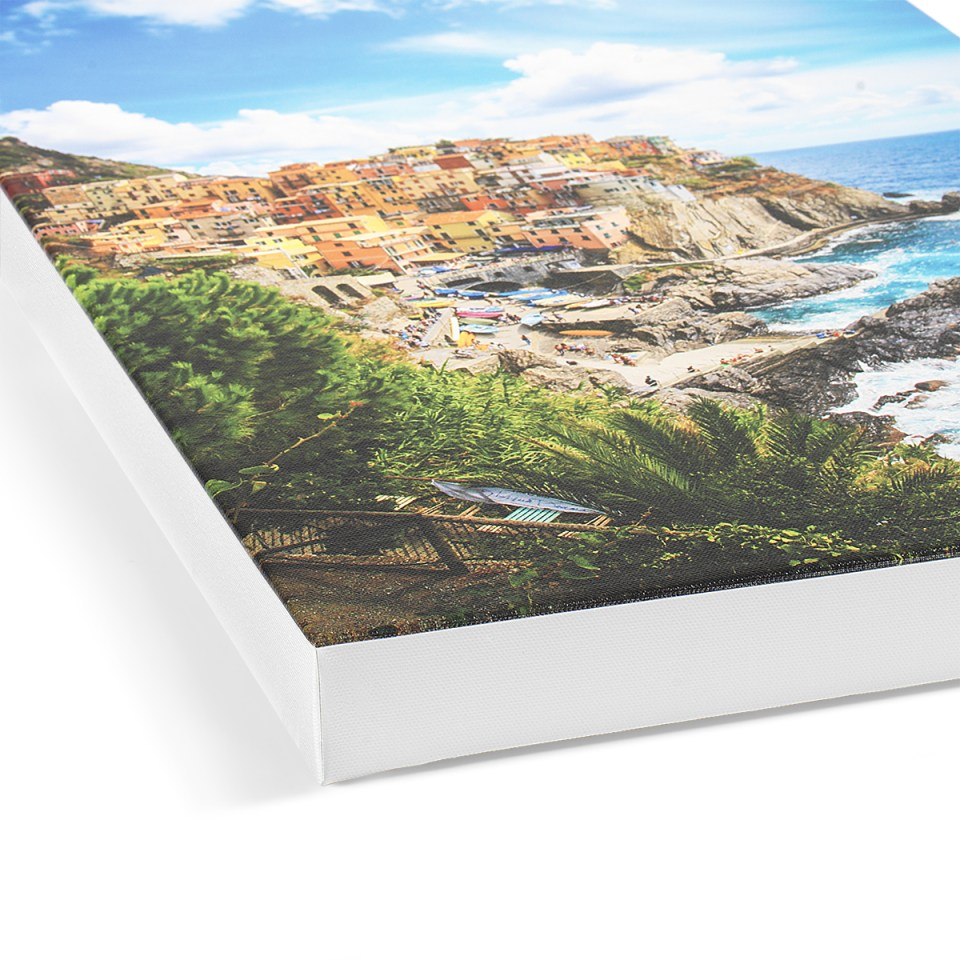 Canvas Prints White Wrap