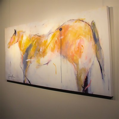 Custom Hotel Gallery Art Horse Fine Art Custom Canvas Prints Kathy Taylor FOUNDRE Phoenix Hotel