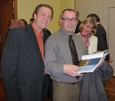 Didier BOINNARD (Artisan Pastellier) , Christian RIVIERE (Comité Départemental du Tarn) et Annick BERTHOME (Comité Départemental du Tarn)