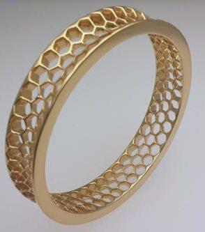 18kt Medici gold-plated bracelet