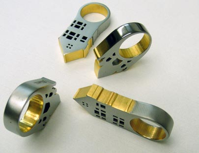 Ruthenium and Gold-Plated Rings