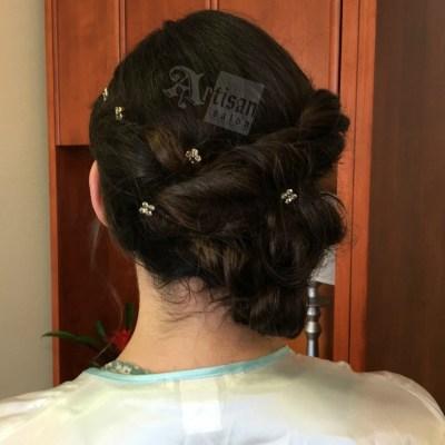 Artisan Salon Bridal hair