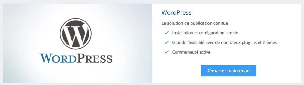 créer un site pour vendre ses créations en ligne : commencer la configuration de wordpress