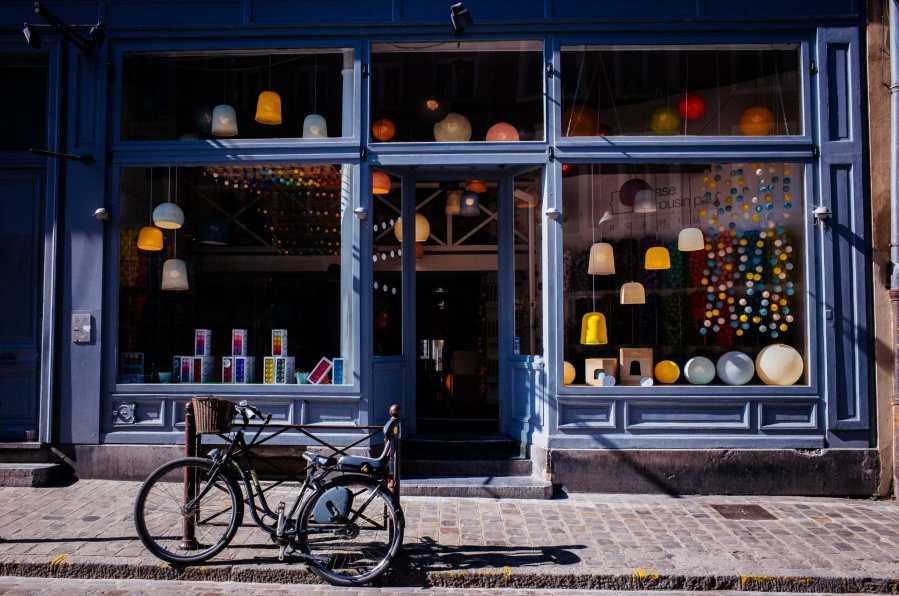 Ouvrir un boutique éphémère : la vitrine.