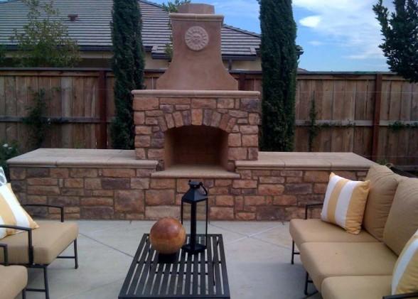 Prefabricated Fireplace: Capo