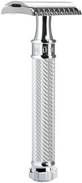 The Muhle R41 Open Tooth Safety Razor