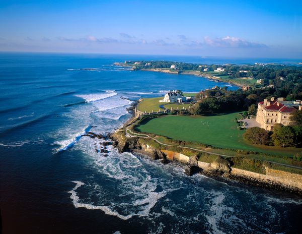 Newport Rhode Island Coastline RI