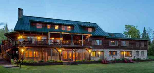 Loon Lodge, Saddleback, Maine, just 20 minutes away from Saddleback Mountain