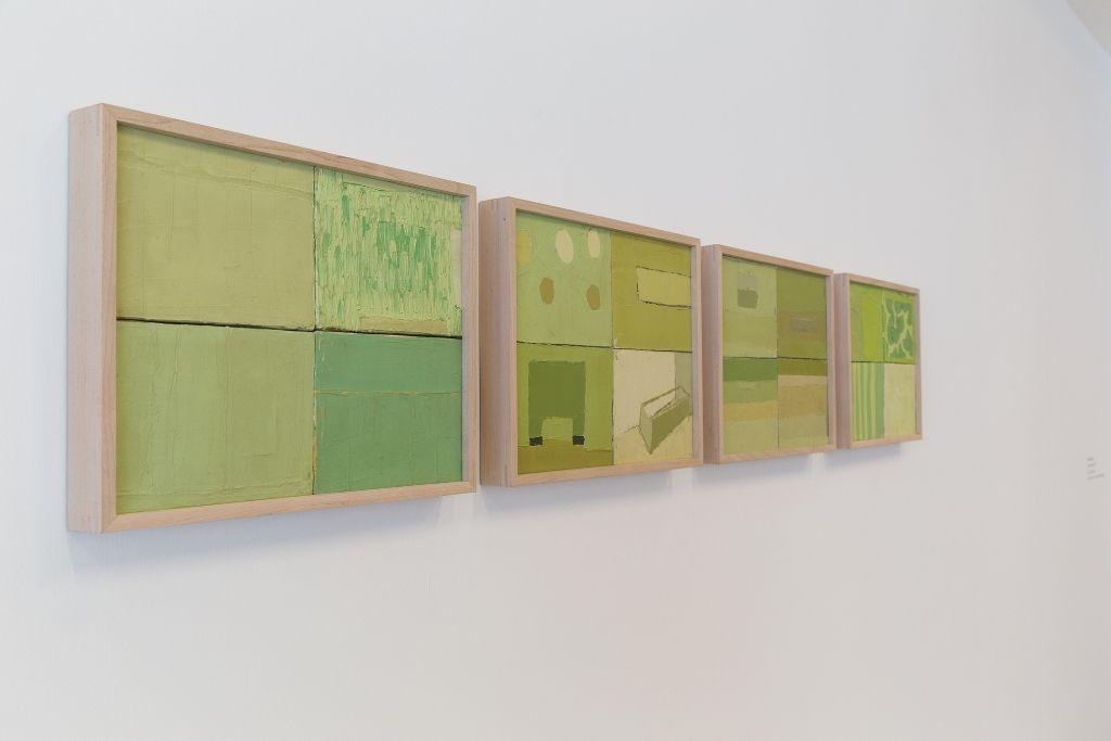 Sofía Táboas, Series verdes, 1993. Cortesía: Colección ESPAC