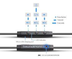 soundpeats-q21-controls