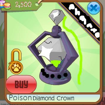 a phantom item a normal animal jammer cannot buy