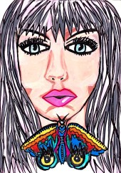 Like moths among the whisperings - By Charlotte Farhan