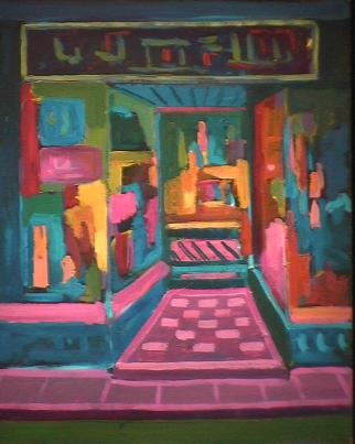Lauson - 1981 Acrylique sur masonite 41cm X 51cm Louis Fortier