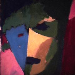 Naïf - 1984 Acrylique sur carton 21cm X 26cm Louis Fortier PRIX : 125$