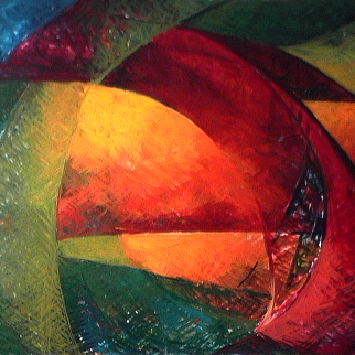 Pirogue - 1980 Acrylique sur masonite 91cm X 122cm Louis Fortier PRIX : 1 500$