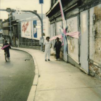 650-670 Rue St-Vallier Est (Côte d'Abraham) Septembre 1991 Louis Fortier, Collection personnelle.