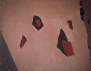 Carrière de sable Sainte-Brigitte de Laval - 1982 Acrylique sur masonite 41cm X 51cm Louis Fortier