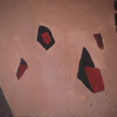 Carrière de sable Sainte-Brigitte de Laval - 1982 Acrylique sur masonite 41cm X 51cm Louis Fortier PRIX : 300$