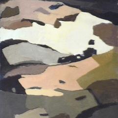 Champs printaniers - 1984 Acrylique sur toile 87cm X 137cm Louis Fortier PRIX : 1500$