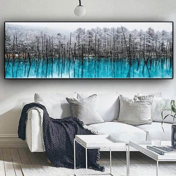 Snow Forest Art