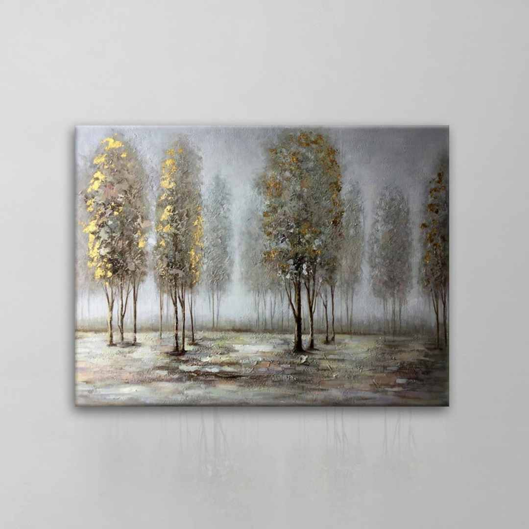 Fading Forest Painting