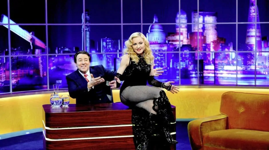 'The Jonathan Ross Show - Madonna Special' TV Programme, London, Britain. - 14 Mar 2015 1