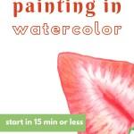 watercolor for beginner