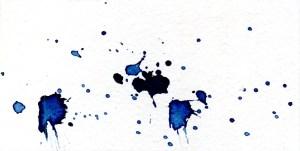 splatter watercolor