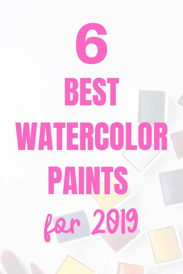 6 best watercolor paints for 2019