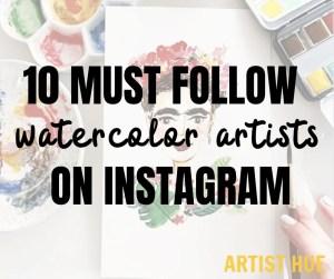 10 must follow instagram watercolor artists 5