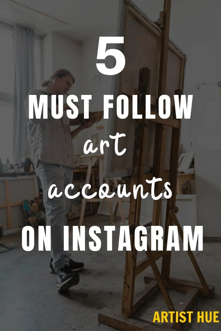 5 MUST-follow Art Accounts on Instagram 1