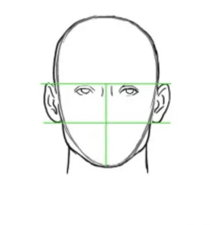 how to draw a face