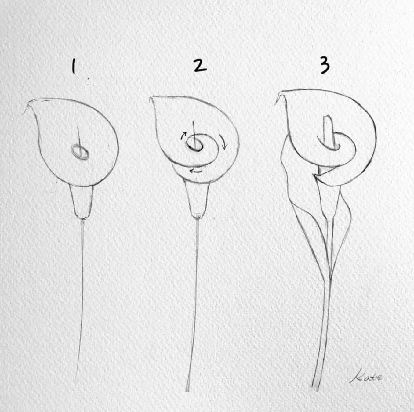 How to draw flowers for beginners? 31