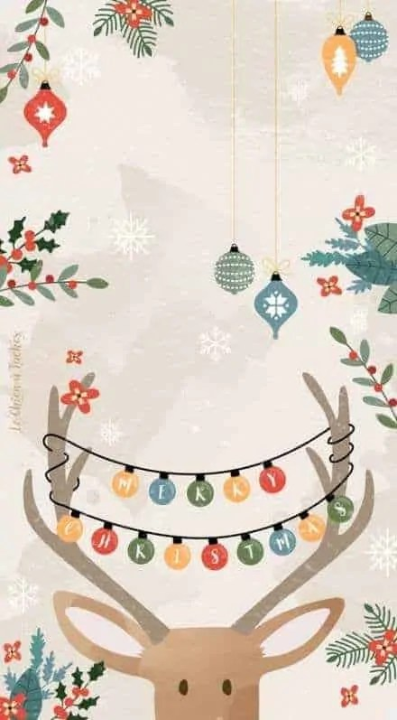 21+ Christmas iPhone Wallpapers you must SEE! 7