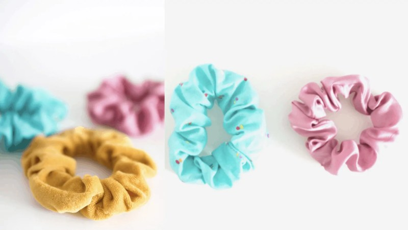 How to make Scrunchies? 3