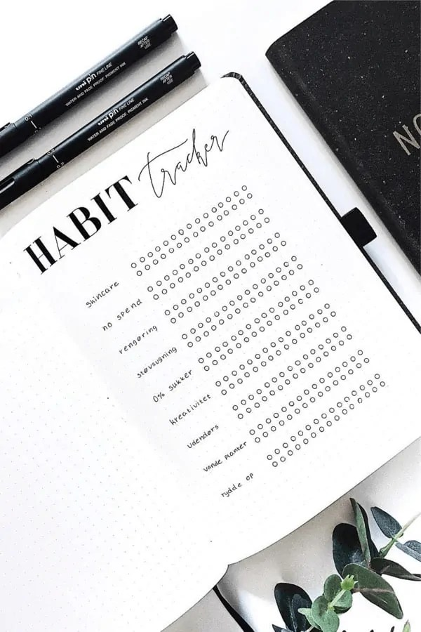 16 Stunning May Habit Tracker Spread Ideas For 2019 - Crazy Laura 5