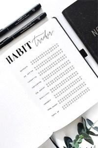 16 Stunning May Habit Tracker Spread Ideas For 2019 - Crazy Laura 5
