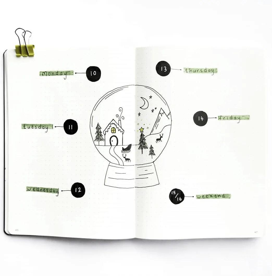 bujo weekly ideas 5