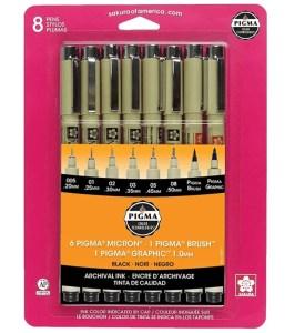 best fine-liner pens for beginners