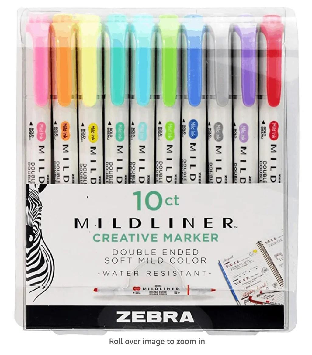 Zebra Midliner Highlighter