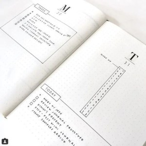 Daily Layout spread