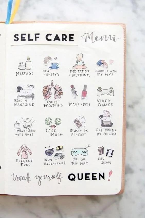 Bullet Journal for Mental Health 6
