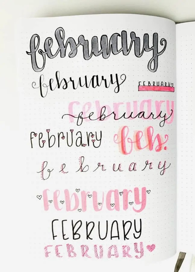February Header