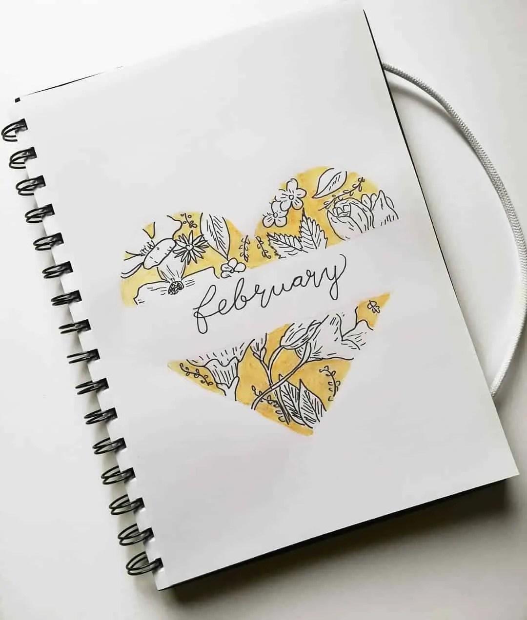 February Bullet Journal Ideas 4
