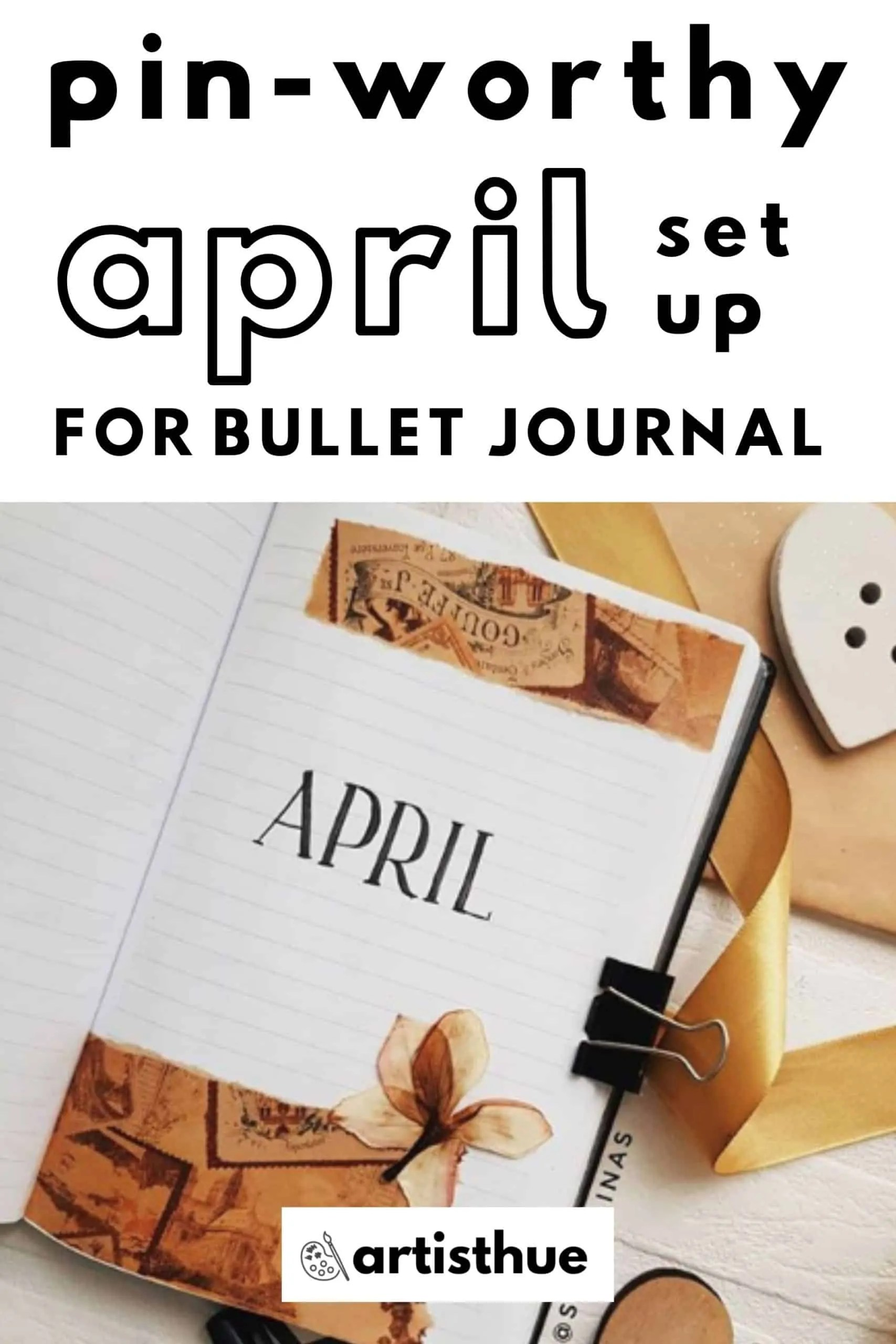 April Bullet Journal: 15 Layout Ideas 5