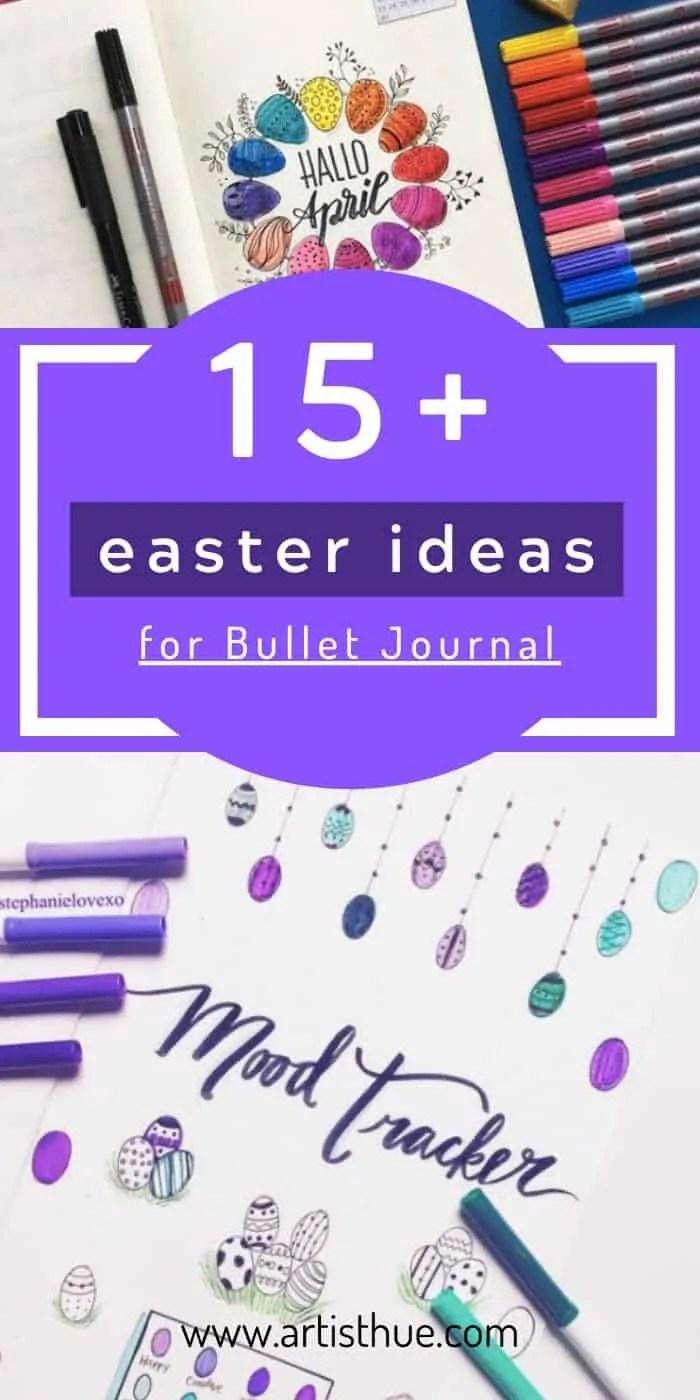 bullet journal easter