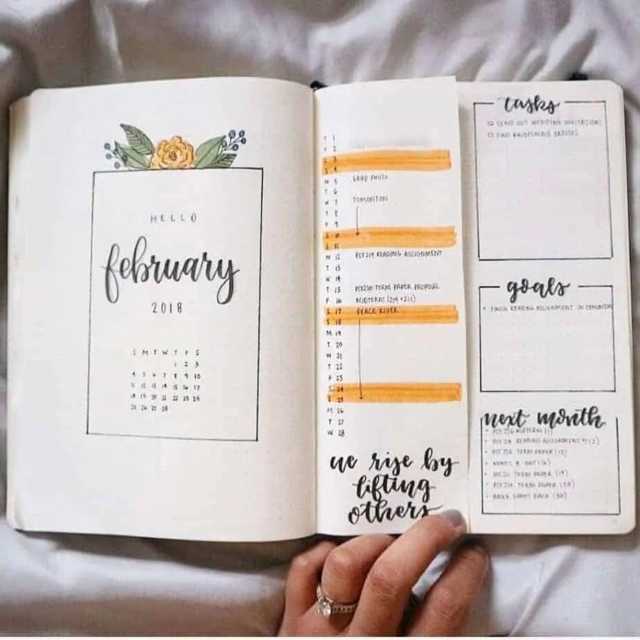 Bullet Journal Setup 5