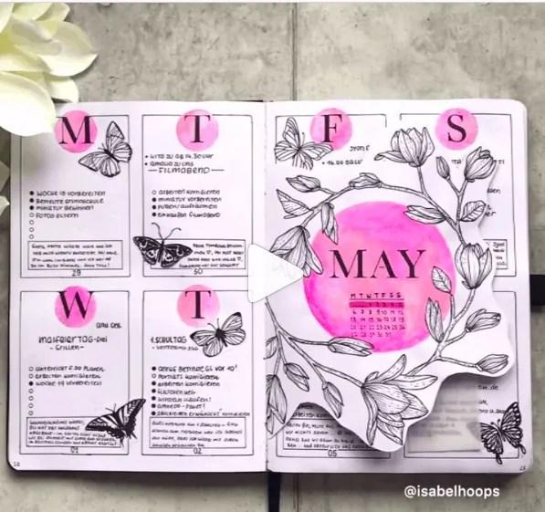 50+ Bullet Journal Weekly Spread Ideas 48