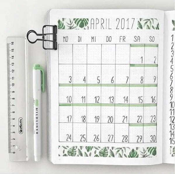 40 Creative Bullet Journal Washi Tape Ideas 24